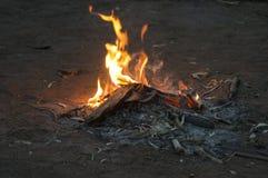 欢迎到国家营火, Wilpena磅手段, SA,澳大利亚 库存照片