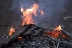 欢迎到国家营火, Wilpena磅手段, SA,澳大利亚 库存图片