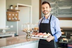 欢迎到我的面包店 免版税库存照片