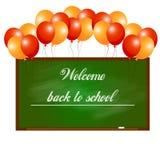 欢迎的回到学校 免版税图库摄影