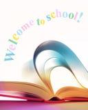 欢迎的学校 免版税图库摄影