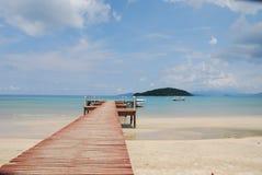 欢迎的海岛天堂 库存图片