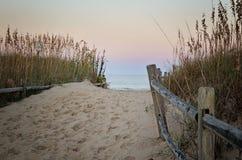 欢迎的海滩 图库摄影