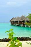 欢迎的马尔代夫天堂 图库摄影
