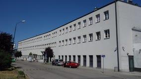 欣德勒的工厂 免版税库存图片
