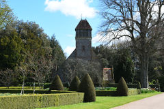 欣顿Ampner教会,汉普郡,英国 库存照片