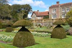 欣顿Ampner议院和庭院,汉普郡,英国 图库摄影