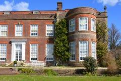 欣顿Ampner议院,汉普郡,英国 免版税库存照片