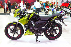 欧亚大陆Moto自行车商展2013年 免版税图库摄影