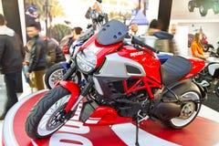 欧亚大陆Moto自行车商展2013年 免版税库存图片
