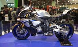 欧亚大陆Moto自行车商展 免版税库存图片