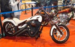 欧亚大陆Moto自行车商展 图库摄影