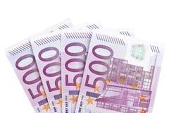 欧元一千二 图库摄影