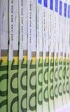 欧元一百一个 免版税库存照片