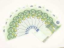 欧元一百十 库存照片