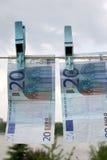 欧元二十 库存图片