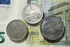 欧元的末端 免版税库存图片
