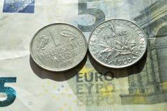 欧元的末端 图库摄影