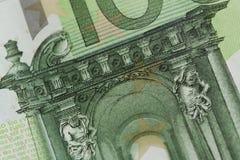 100欧元笔记-图象 库存照片