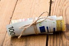 欧元金钱 库存图片