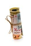 欧元金钱 免版税库存照片