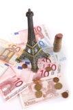 欧元,巴黎 免版税图库摄影