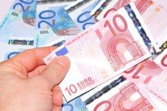 10欧元 库存照片
