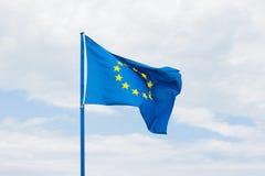 欧共体旗子 免版税库存图片