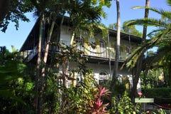 欧内斯特Hemingway之家在Key West 图库摄影