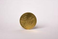 10欧分硬币 库存图片