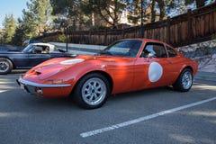 欧宝GT 1971年 库存图片