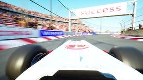 欧宝Kadett GTE 非常快速驾驶 现实4K动画 皇族释放例证