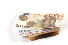欧洲三明治 免版税图库摄影