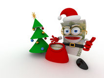 欧洲圣诞老人 免版税库存照片