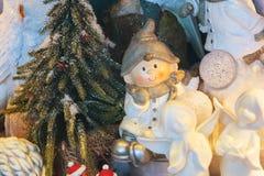 欧洲圣诞节装饰 免版税库存照片