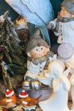 欧洲圣诞节装饰 图库摄影