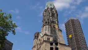 欧洲大厦, Kaiser威谦廉纪念品教会 股票录像