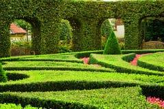 欧洲庭院 库存图片