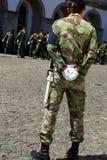 欧洲强制军人 免版税库存照片