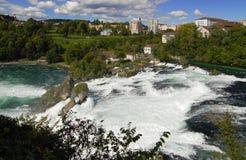 欧洲最大的s瀑布 库存图片