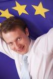 欧洲标志人联盟 免版税库存图片