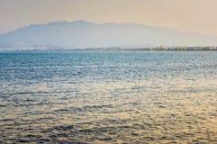 欧洲沙滩和蓝色海, 3月Menor 库存图片