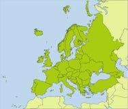 欧洲的国家(地区) 免版税库存照片