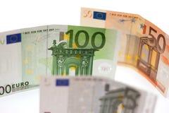 欧洲的钞票 免版税库存图片