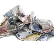 欧洲的钞票 图库摄影