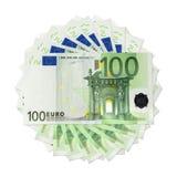 欧洲的钞票 皇族释放例证