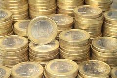 欧洲硬币 免版税库存图片