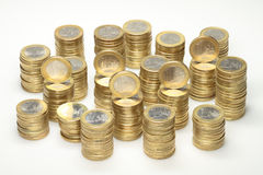 欧洲硬币 图库摄影