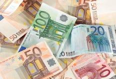 欧洲票据 库存图片