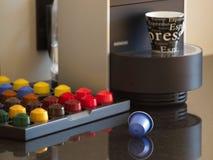 欧洲类似nespresso新的s 免版税库存照片